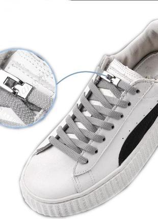 Эластичные шнурки без завязок для обуви шнурки резинки