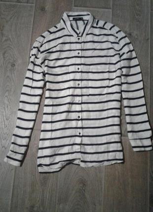 Блуза в полоску-лише сьогодні -50% від суми