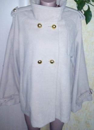 Шикарное фирменное пальто /пальто/кардиган/полупальто/пончо/куртка