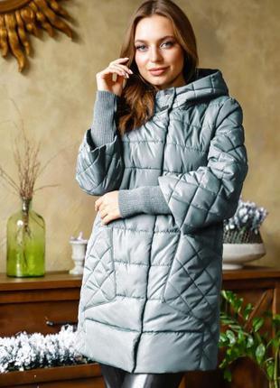 Куртка женская марго nui very цвет морская волна размер 48