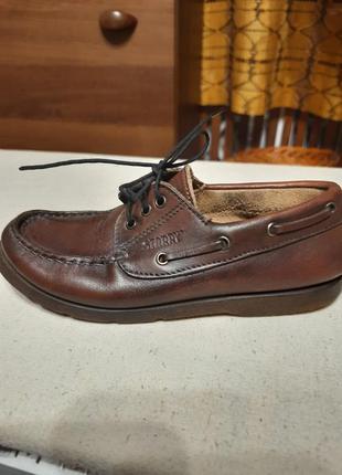 Кожанные туфельки,  32 размер. италия