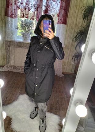 Плащ тренч зимняя куртка парка