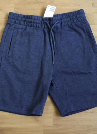 Байковые шорты мужские h&m размер м новые