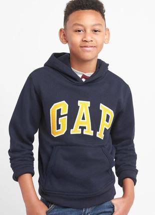 Худи gap с большим логотипом на парня