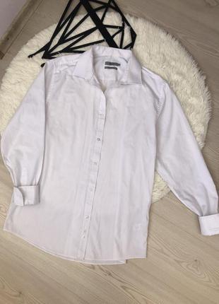 Рубашка белоснежная