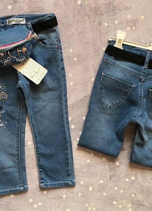 Стильные джинсы с бананкой
