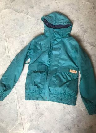 🆘🔥последняя цена до 30 сентября 🆘🔥 лыжная голубая бирюзовая куртка
