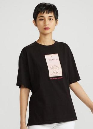 Uniqlo oversize футболка плотная