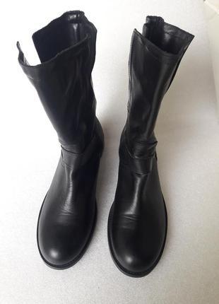 Baggat (італія) шкіряні чобітки в ідеальному стані 40 р. на середню ногу