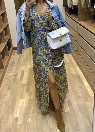 Платье massimo dutti роскошное на подкладке 🧚