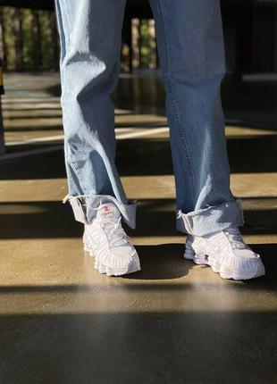Nike shox tl женские спортивные кроссовки