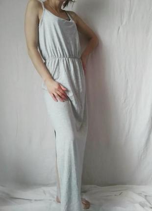 Сукня максі  з розрізом збоку m&s size m