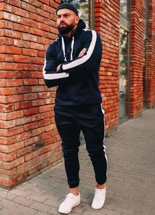 Спортивный мужской костюм с начесом (в расцветках) рр m- xxl