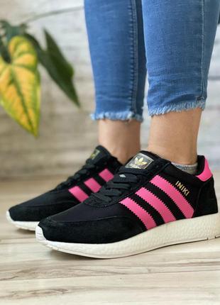 Кроссовки adidas чёрные