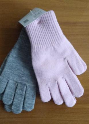 Перчатки деми. набор перчаток c&a из германии, размер 104-122