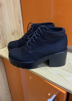 Vagabond ботинки ботильоны полусапожки 38 размер
