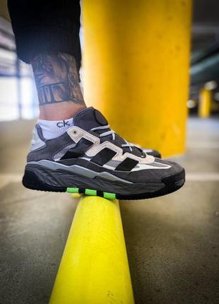 Мужские кроссовки adidas niteball grey