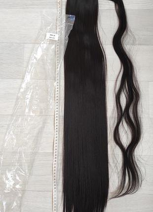 Хвост 85см, оттенок 2, искусственные волосы ,трессы, шиньон
