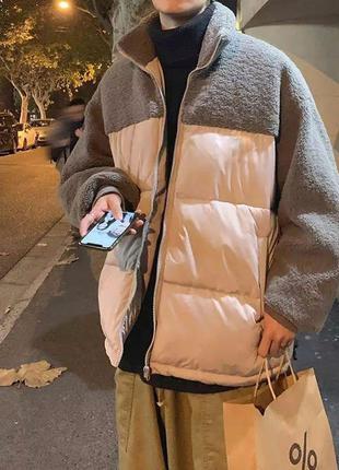 Новая унисекс курточка из овчины😍