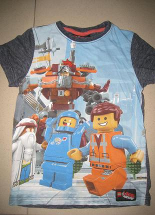 Фирменная футболка lego 6лет.(116см)