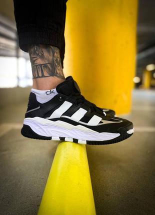 "Мужские кроссовки adidas niteball ""black/white"""