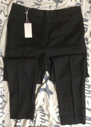Классические базовые зауженные брюки