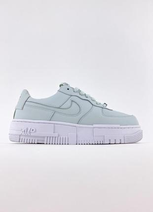 Nike air force 1 pixel mint white наложенный платеж