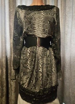 Роскошное мини-платье