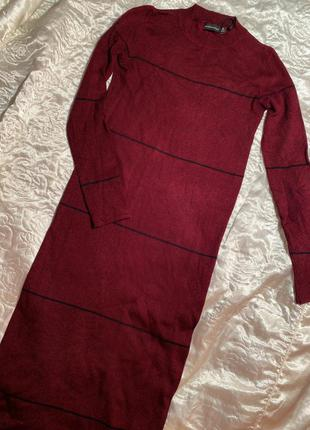Вязаное платье чулок bershka