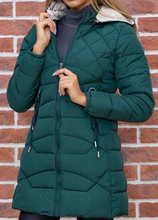 Теплая женская куртка осень-зима