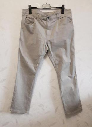 Стрейчевые трекинговые брюки из хлопка и эластана от frisco by stooker