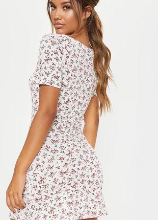 Новое летнее платье с бирками брендовое легкое prettylittlething