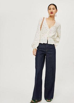 Top shop очаровательная блуза размер европейский 38