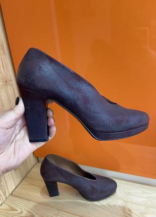 Туфли accessoire diffusion 37 размер ботильоны полусапожки