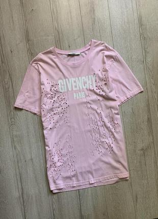 Платье-футболка туника оверсайз футболка givenchy