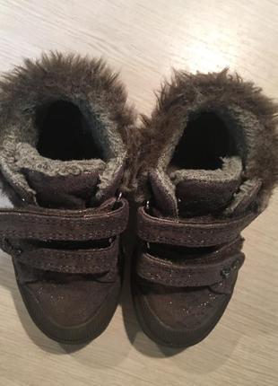 Фирменные ботинки next