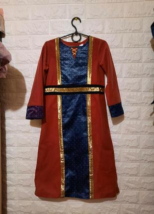Карнавальный костюм заморской принцессы, принцессы