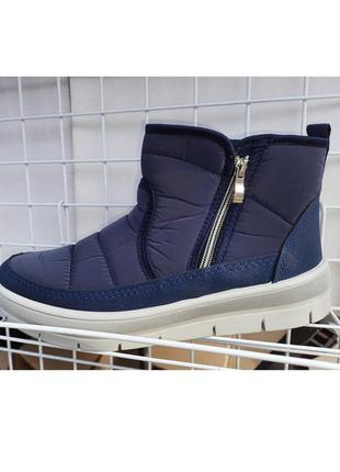Ботинки на меху кроссовки зимние женские дутики 41