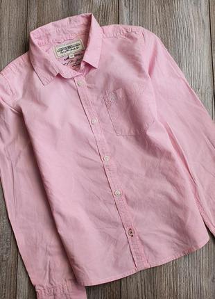 Рубашка для девочки river island 6-8л