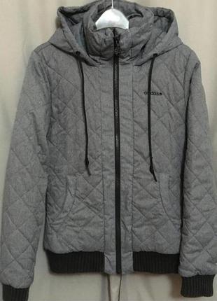 Куртка, adidas, оригинал, s-m, 44-46 рр, флис.