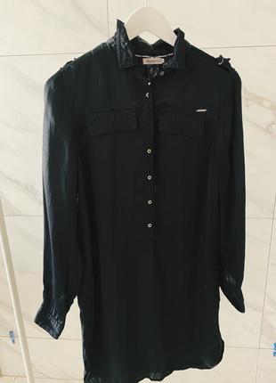 Платье чёрное calvin klein