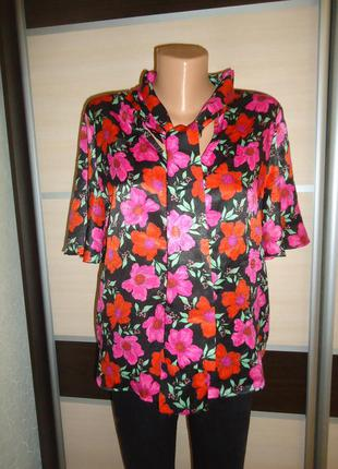 Блуза mango casual