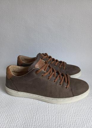 Manfield кожаные оригинальные кроссовки 40
