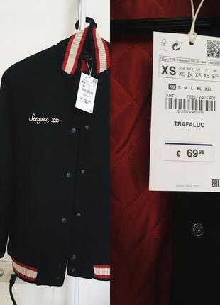 Куртка бомбер zara