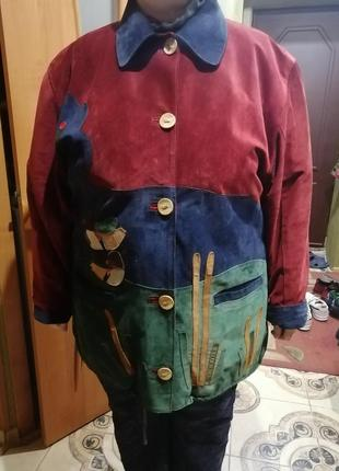 Женская кожаная куртка производство италия