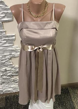 Красивое вечернее выпускное платье