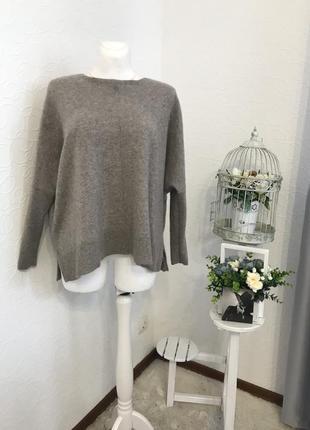Мягусенький кашемировый свитер оверсайз 💯 % кашемир 🐐