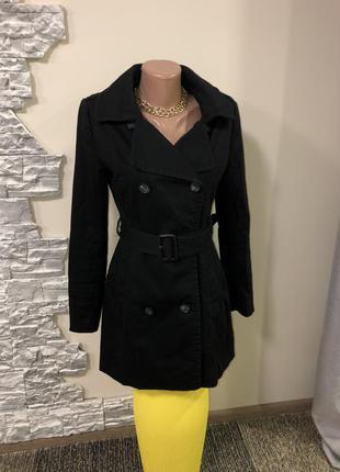 Женское пальто тренчкот плащ от h&m
