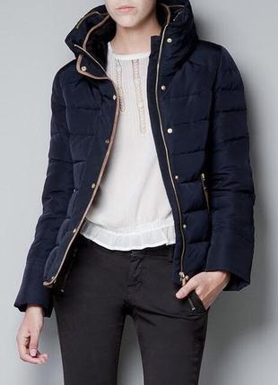 Тёплая куртка zara