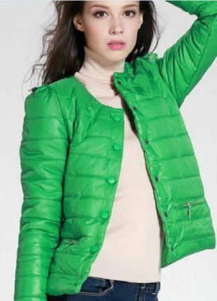 Демисизонная стеганная куртка